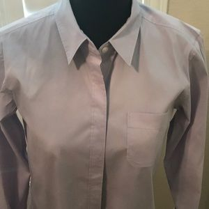 - +J uniqlo women's lavender burton down blouse